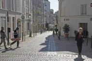 Le haut de la rue Saint Blaise